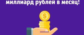 Выручка Беру ру превысила миллиард рублей в месяц!